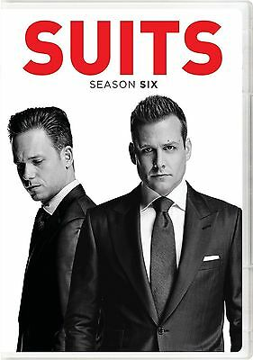 Suits: Season 6 (DVD, 2017, 4-Disc Set) NEW