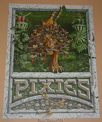 The Pixies Dig My Chili Asheville Concert Poster Print Signed Numbered