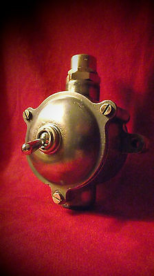 "Vintage Industrial Light Switch ""Lewden"" Toggle Metalclad"