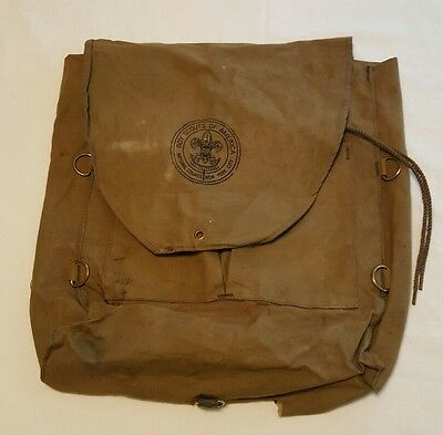 Boy Scouts Of America National Council New York City Canvas Yucca Backpack