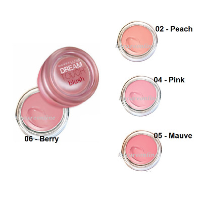 Maybelline Dream Touch Blush - 02 Peach , 04 Pink , 05 Mauve