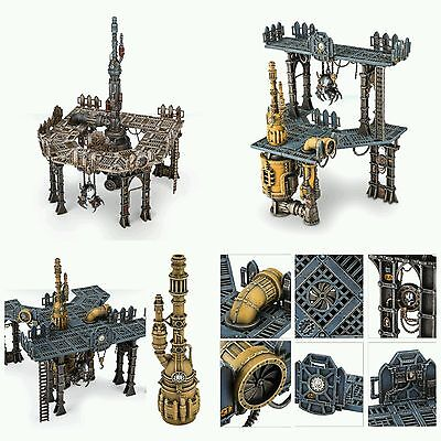 Shadow War scenery Mechanicus Galvanic Magnavent - PRO PAINTED TO ORDER