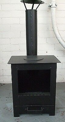 Outdoor Wood Burning Stove Heater Fire Pit Garden Chiminea New Made in UK