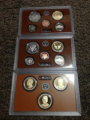 2015 / 2016 United States Proof Sets in Plastic Cases