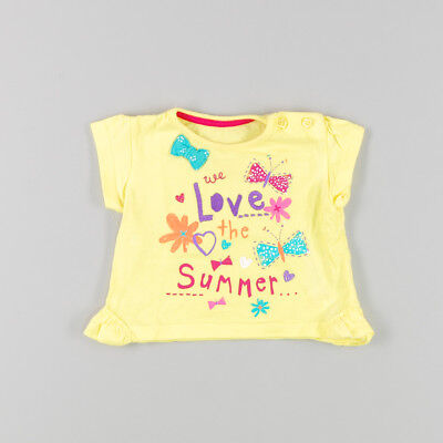 Camiseta Love Summer mc de color Amarillo de marca Early days 3 Meses