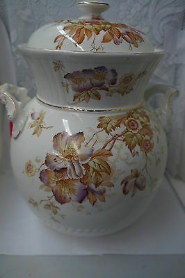 Antique Victorian H.S. and Sons Orient Slop Jar Urn