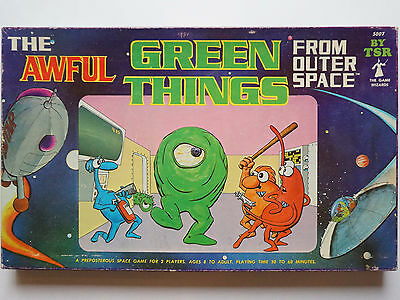 The Awful GREEN THINGS From Outer Space ~ TSR 1980 ~ 100% COMPLETE
