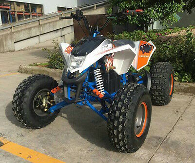 1200W Brushless Electric Atv 48V Adult / Teen Quads Battry Operated - Free Ship