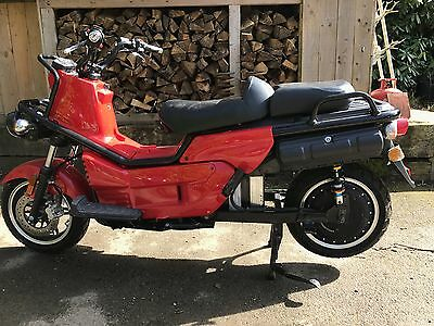 ZEV 5100 T 5000 Watt 5KW Electric Scooter Motorcycle Honda PS250 based WHY?