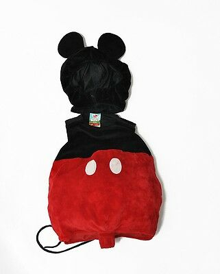 Mickey Mouse 12 Month Toddler Costume Disney Store 2pc Plush Costume