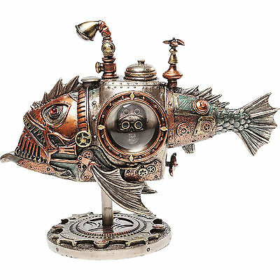 figur dekoration accessoire deko objekt steampunk submarine neu kare design eur 65 00. Black Bedroom Furniture Sets. Home Design Ideas
