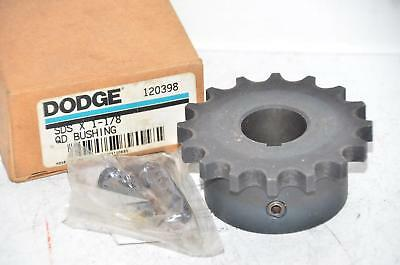"NEW Dodge 120398 SDS 1-1/8"" Quick Disconnect Bushing Finished with Keyway"