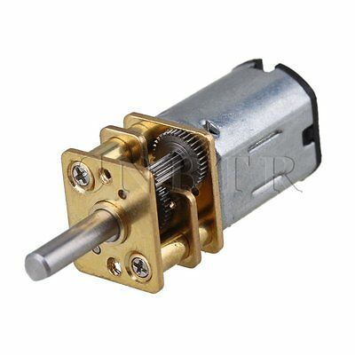 DC 3V 100RPM Mini Gearwheel Speed Reduce Geared Electric Motor with 3mm Shaft