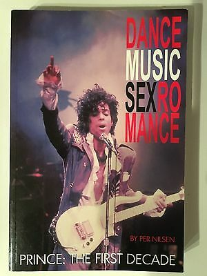 Prince - The First Decade - Dancemusicsexromance - RARE Paperback Book - OOP