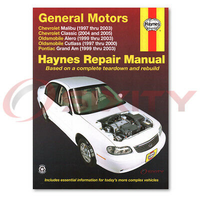 pontiac grand am haynes repair manual se2 gt gt1 se1 shop service rh picclick com 2003 pontiac grand am manual transmission 2003 grand am manual transmission