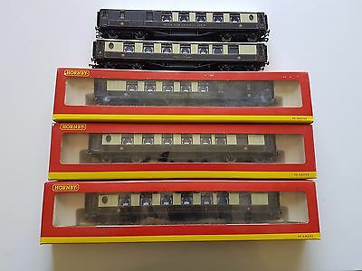 Hornby HO OO pullman  passenger cars with working lights