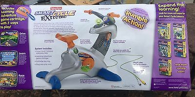 Fisher Price Physical Learning Arcade System Smart Cycle Extreme - New In Box!