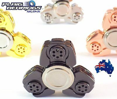 Fidget Spinner Alloy with Competition CERAMIC Bearing UPGRADE LONG SPINNING