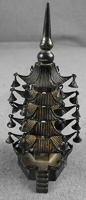 Sterling Silver Pagoda Hallmarked Signed
