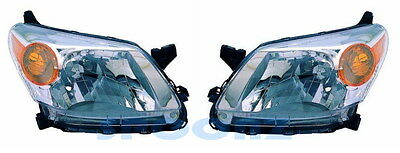Scion Xd 2008-2015 2012 2013 2014 2015 Headlights Head Lamps Set - Pair