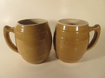 UHL Pottery Co. Vintage Pair of Mugs Coffee#16