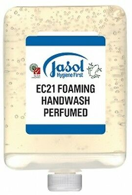Jasol Brightwell 2073863 Ec21 Foaming Hand Wash 6X1l Pods in Yellow