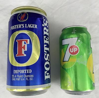 Large Fosters Beer Can 97 USA
