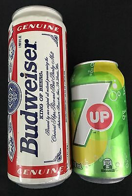 Large Budweiser Beer Can 97 USA