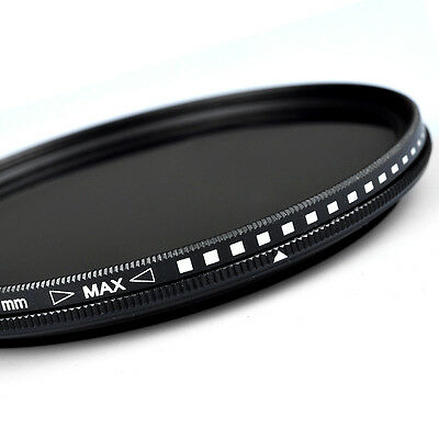 ZOMEI ND2-400 Filter Fader Variable for Camera 40.5/49/52/55/58/62/67/72/77/82mm
