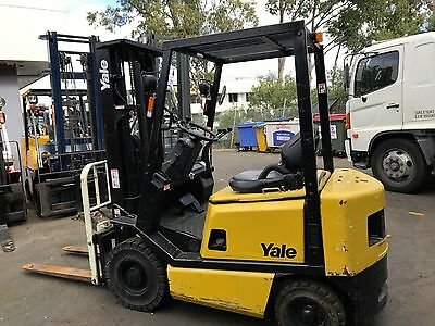 Yale Forklift 1.5 Ton 4.8m Lift Container Mast $7499+GST Negotiable