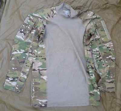 US Army OCP OEF ACU Cyre Precision Multicam ACS Massif Combat shirt Small