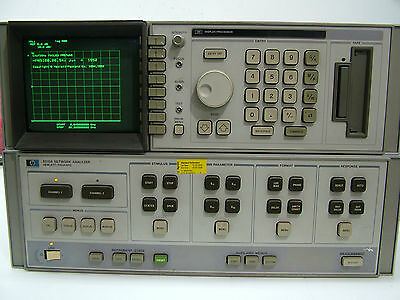 HP 8510A Network Analyzer Fully Tested Patentix Ltd