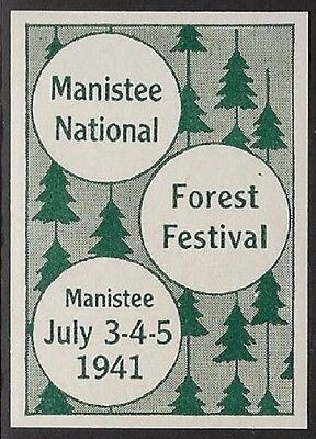 USA Cinderella: Manistee National Forest Festival, July 3-5, 1941  - dw790