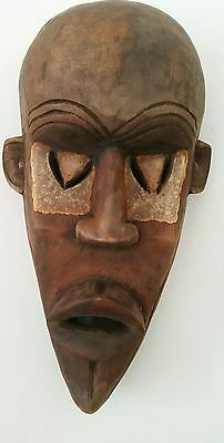 West African Wooden Ethnic/tribal Ceremonial Mask from Sierra Leone