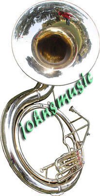 "UNIQUE GIFT_SOUSAPHONE_25"" VALVE BIG-TUBAMADE_OF/FULL BRASS W/bag""BRASS FIN"