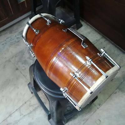 "GOOD dholak SHESHAM_wood""bolt fitting,dhollki nice sound best offer dholak"