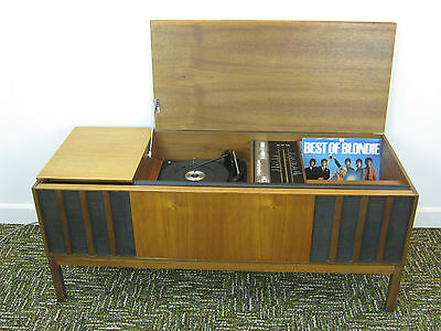 Vintage Radiogram by Ferguson, Retro record player, Radio for refurb. Northants