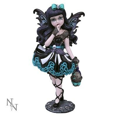 New Release Nemesis Now Little Shadow Gothic Fairy figurine of Adeline