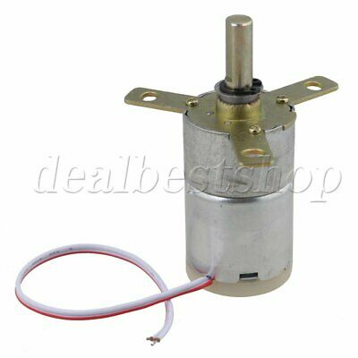 New 12V DC 25 RPM Gear-Box Speed Control Stabilivolt Electric Motor 2.33kg.cm