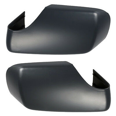 Pair Car Door Side Rearview Mirror Shell Cover Cap Housing Fit for BMW E46 98-04
