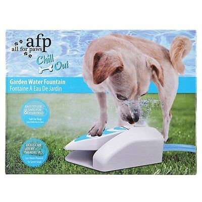 AFP Dog Puppy Chill Outdoor Garden Water Drinking Fountain For UseEr With Hose