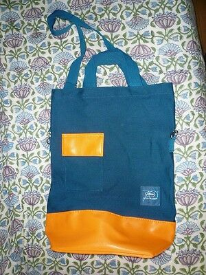 Cannes Film Festival 2017 Official Tote Carryall Bag New unused Orange & Blue