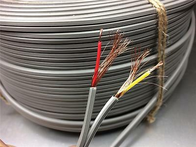 1950  TELEFUNKEN interconnect microphone cable wire 2 way w. shield coil