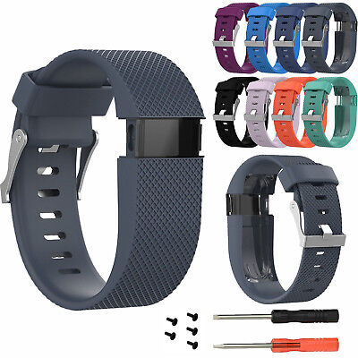 Replacement Wristband Bracelet Strap Band + Tool for Fitbit Charge HR Tracker GY
