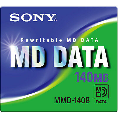 BRAND NEW SONY MMD-140B Rewritable MD DATA 140MB Free Shipping Worldwide