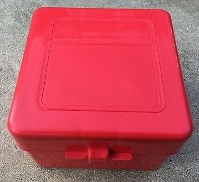 MTM Case-Gard S25 Shotshell Box w/Flip Top holds 25 Shotgun Cartridges 20 BORE