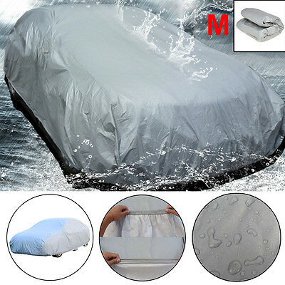 NEW Full Car Cover UV Protection Waterproof Breathable Medium Size:M Universal