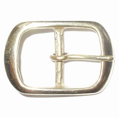 1.25 Inch 32Mm Solid Cast Brass Full Belt Buckle