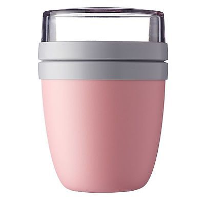 ROSTI MEPAL Lunchpot ellipse nordic pink Lunchbox Joghurtbox Box Lunch Box rosa