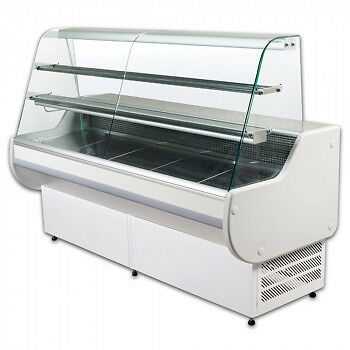 Refrigerated serve over / chiller  display counter / salad bar / deli fridge